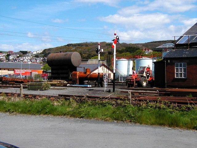 Vale of Rheidol Railway Workshop & Yard , Aberystwyth