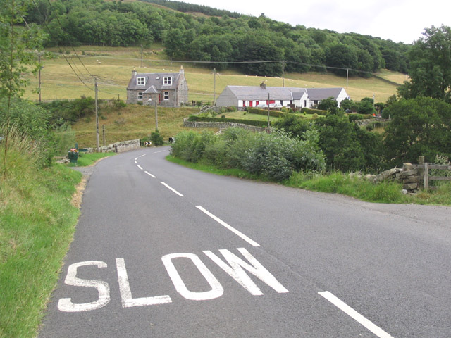 The A708 in the Yarrow Valley