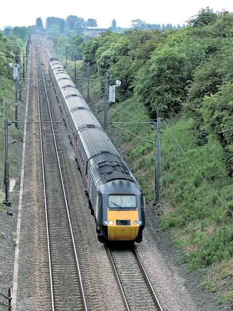 Railway line near Askham
