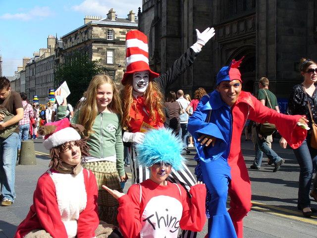 Edinburgh Festival Fringe Performers