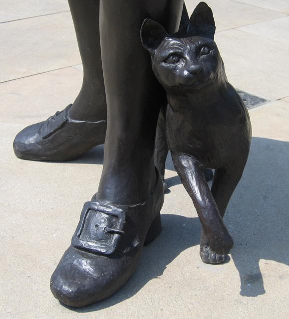 Trim, the cat, in Donington, Lincs