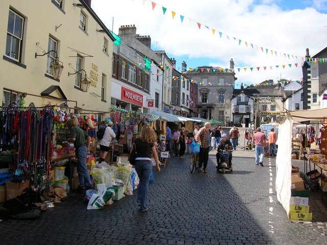 Market day - Ulverston © DS Pugh cc-by-sa/2.0 :: Geograph Britain and ...