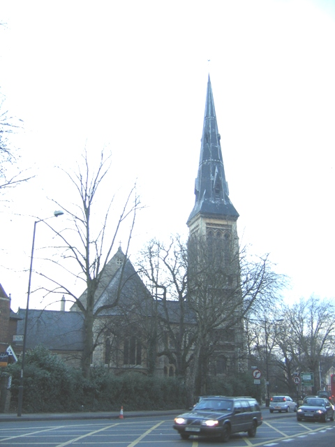 Former church of St Peter, Dulwich Common