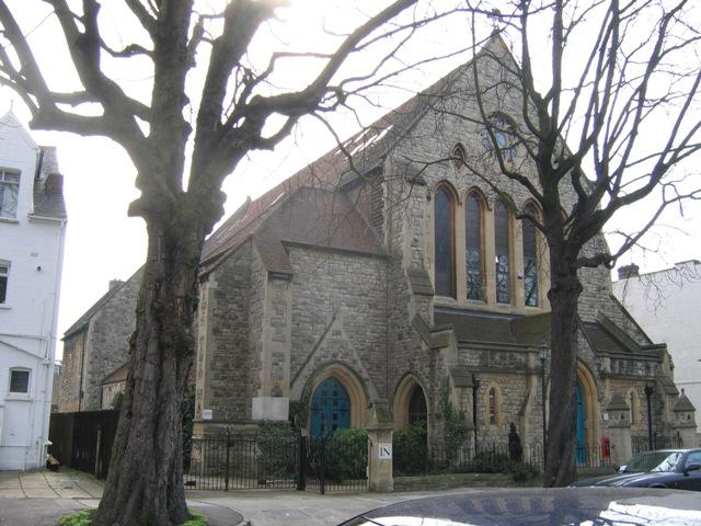 Christ Church Flats, Kew Road