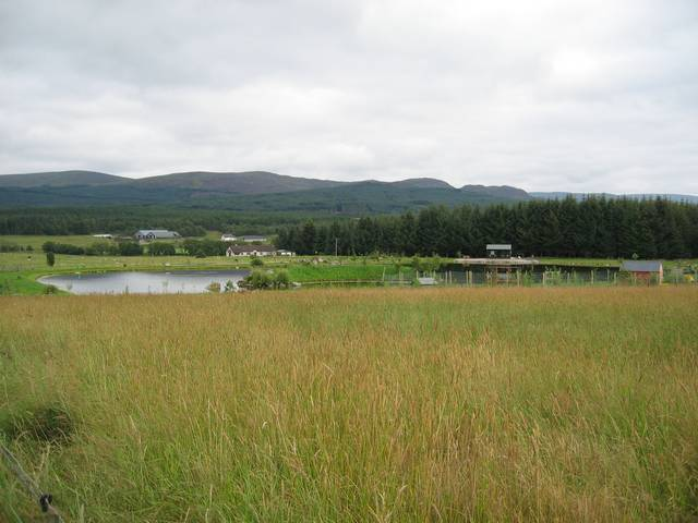Fishing Pond at Dalveallan
