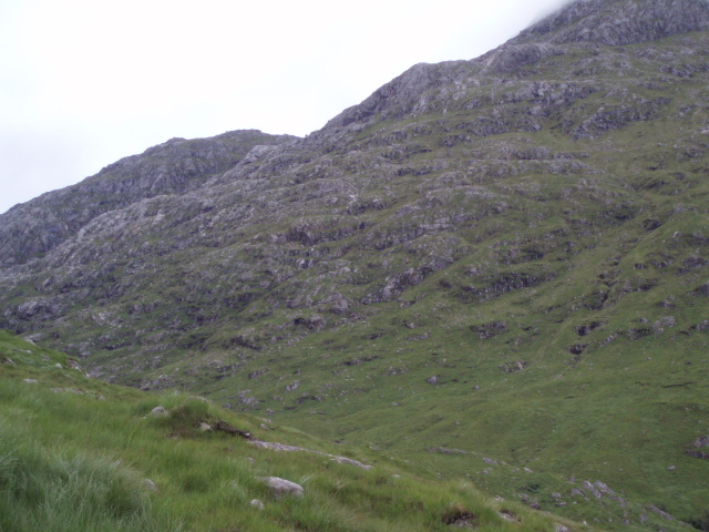 Lower slopes