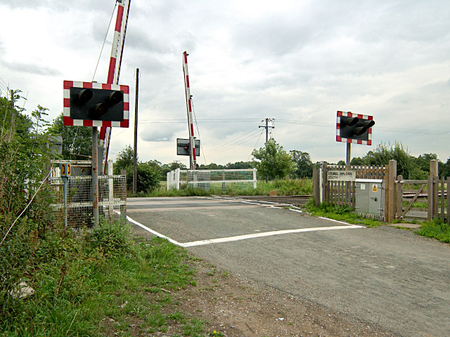 Railway Crossing - Walden Stubbs