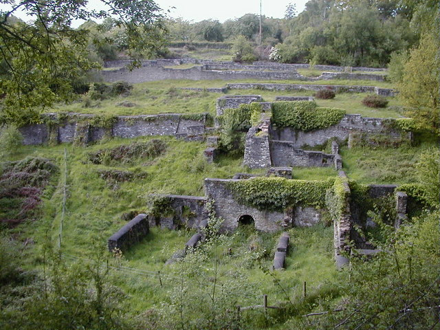 Darkhill Ironworks, at Gorsty Knoll