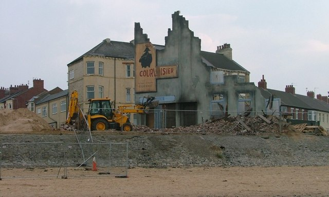 'Atonement', Film Set, Redcar Sea Front