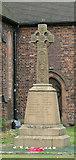 SJ8643 : Great War Commemorative Cross by Neil Lewin