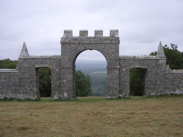 Grange Arch on the Purbeck ridgeway