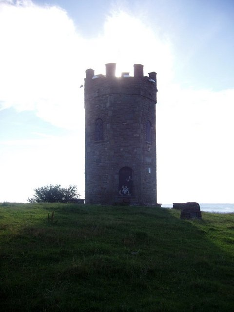 Folly tower near Pontypool