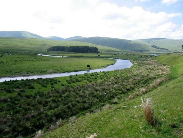 Daer Water meander