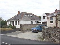 SW8773 : Bungalows in St Merryn by David Hawgood
