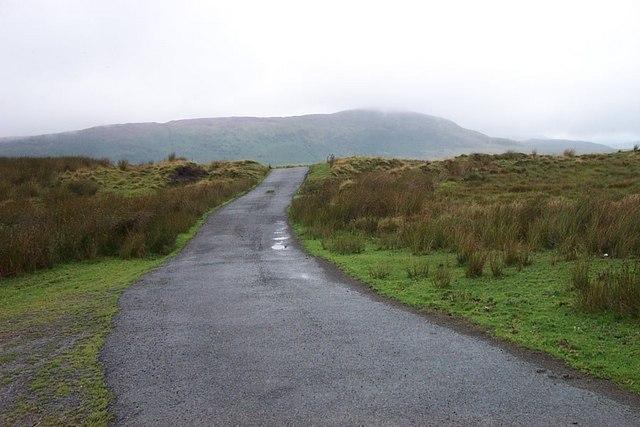 Road to Llyn Cowlyd Reservoir