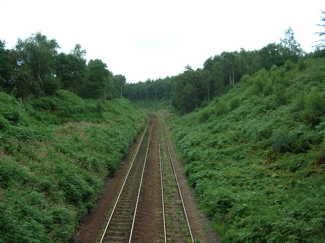 Railway line near Prospect Tunnel