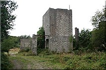 SW9560 : Derelict Building on Goss Moor by Tony Atkin