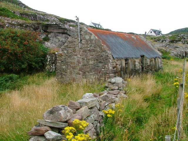 Abandoned Croft, Ardmair