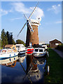 TG4522 : Horsey Drainage Mill (National Trust) by Linda Bailey