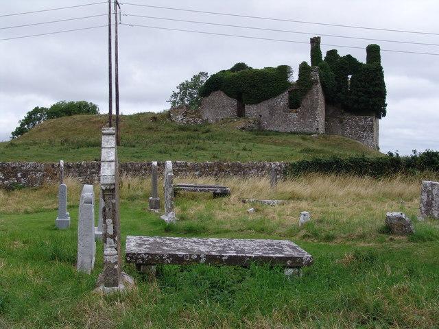 Carbury Castle Co Kildare Adam Quinan Cc By Sa 2 0