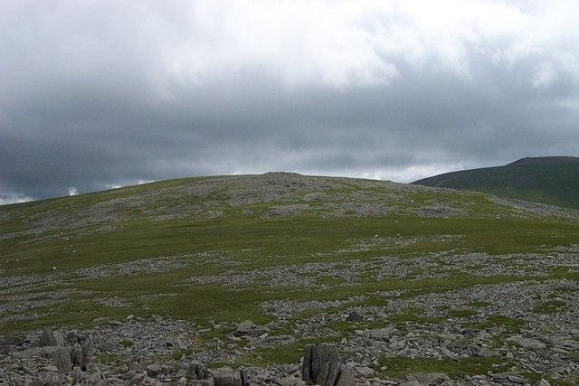Garnedd Uchaf from the Summit of Yr Aryg