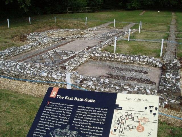 Roman Villa at Rockbourne