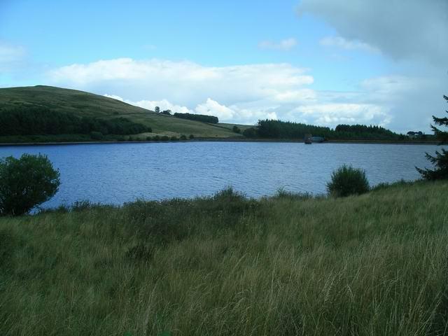 Glenkiln reservoir and dam