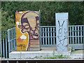 SJ9170 : Vandalism or art? by Neil Lewin