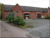 SO6263 : Tithe Barn, Kyre Park by Philip Halling