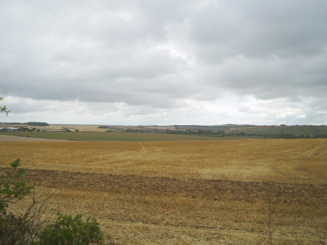 Across fields to Pimperne