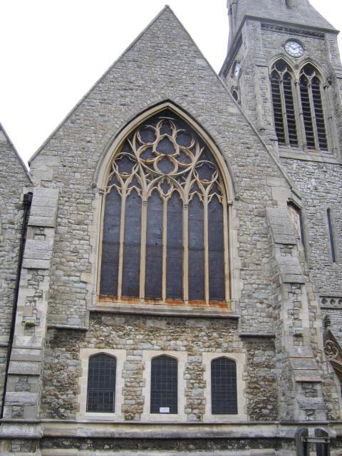 South end of St John's church