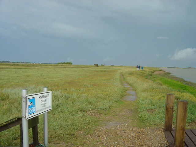 RSPB nature reserve of Havergate Island