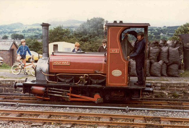 "Bala Lake Railway - ""Holy War"" at Llanuwchllyn"