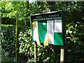 TQ3539 : Parish Council Noticeboard by Nigel Freeman