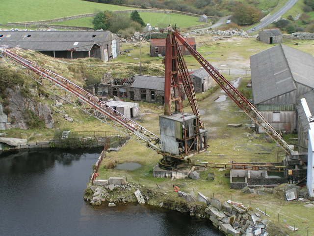 Rotting Crane, Merrivale Quarry