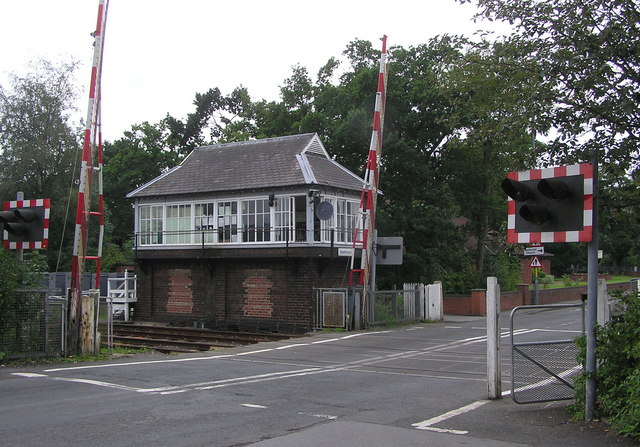 Signal Box, Nunthorpe Station