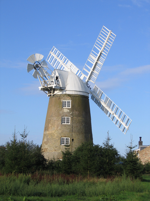 Great Mill tower windmill, Haddenham, Cambs