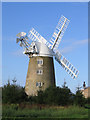 TL4574 : Great Mill tower windmill, Haddenham, Cambs by Rodney Burton