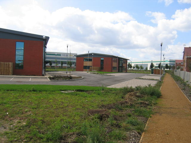 New offices at the site of Coventry Colliery