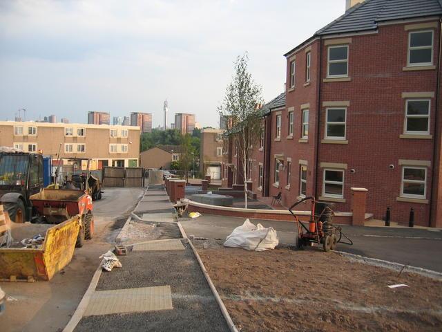 New housing in Lozells