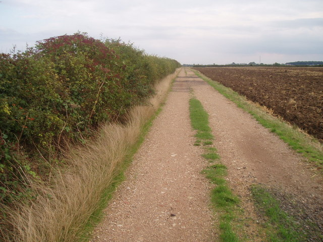 Bridleway on the Bedfordia farmland