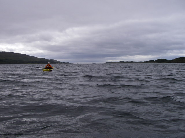 Leaving Loch Sween