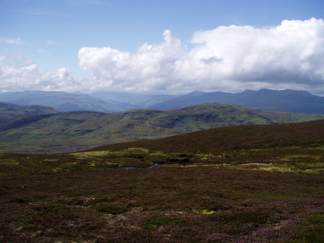 Summit of Meall Daimh