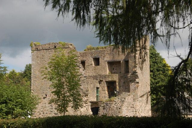 Quoile castle near Downpatrick