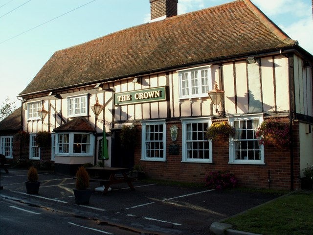 'The Crown' inn, Wormingford, Essex