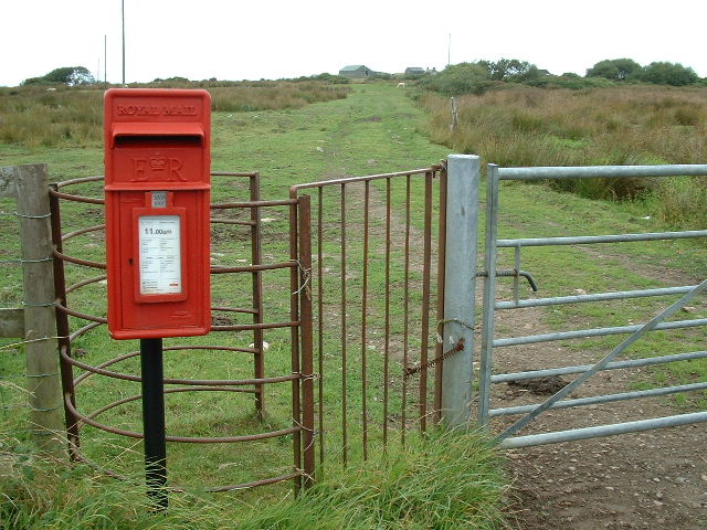 Pillar box and Kiss Gate