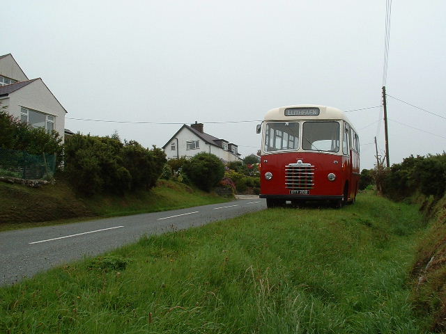 Houses and Bus