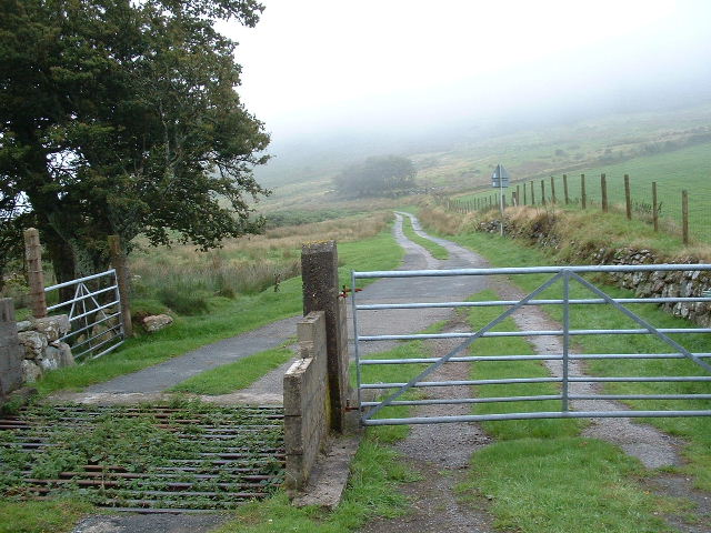 Gates and Track to Hafod