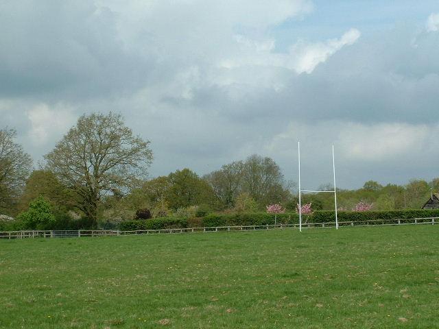 Rugby near Butterstocks Farm