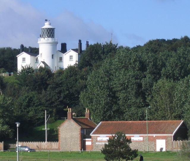 Lowestoft Denes lighthouse
